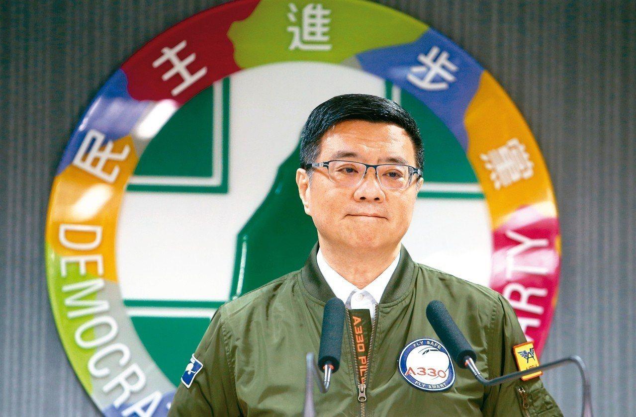 民進黨主席卓榮泰。 本報資料照片