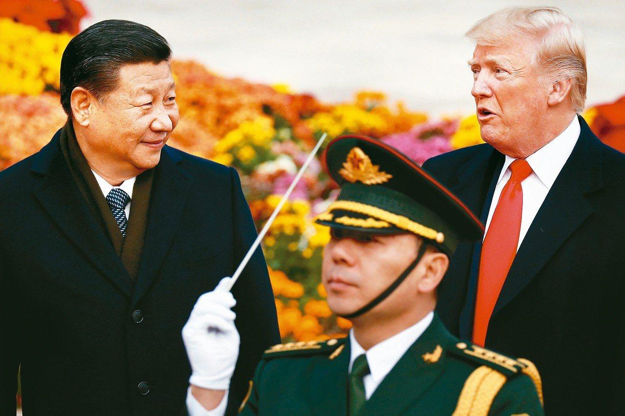 美中貿易戰升溫,美國總統川普與大陸國家主席習近平預定6月底在大阪會面。 路透