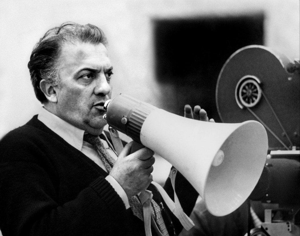 義大利名導費里尼(Federico Fellini)。圖/台北金馬影展執行委員會...