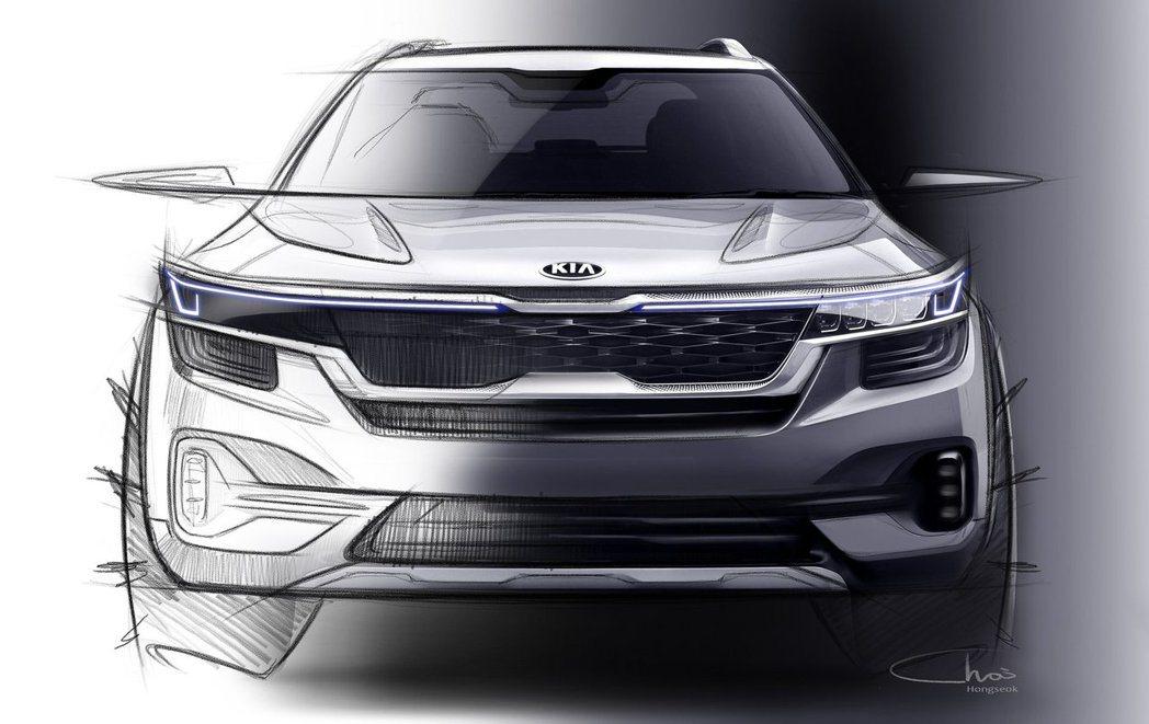 Kia全新小型休旅預計在夏天發表。 摘自Kia