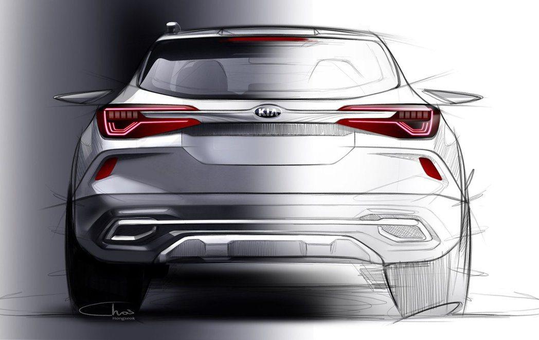 Kia尚未公佈全新小休旅的車名。 摘自Kia