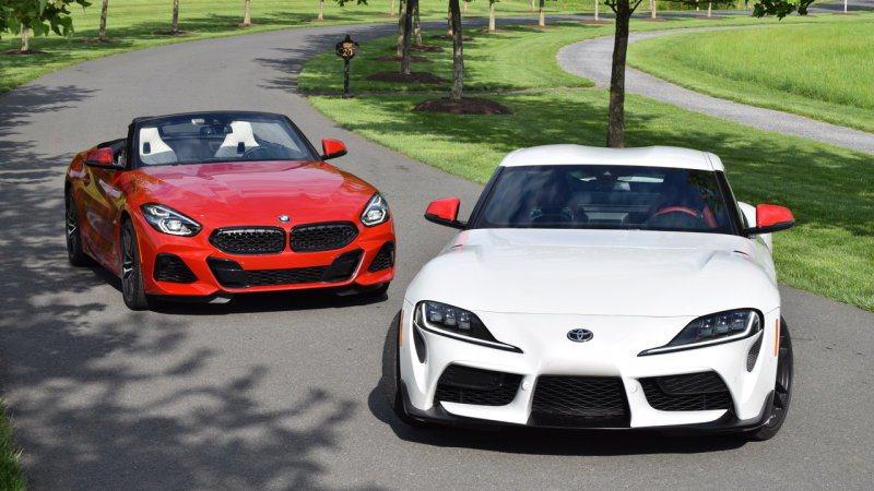 Toyota Supra有接近380hp的實力,幾乎要跟美規版本的BMW Z4 ...