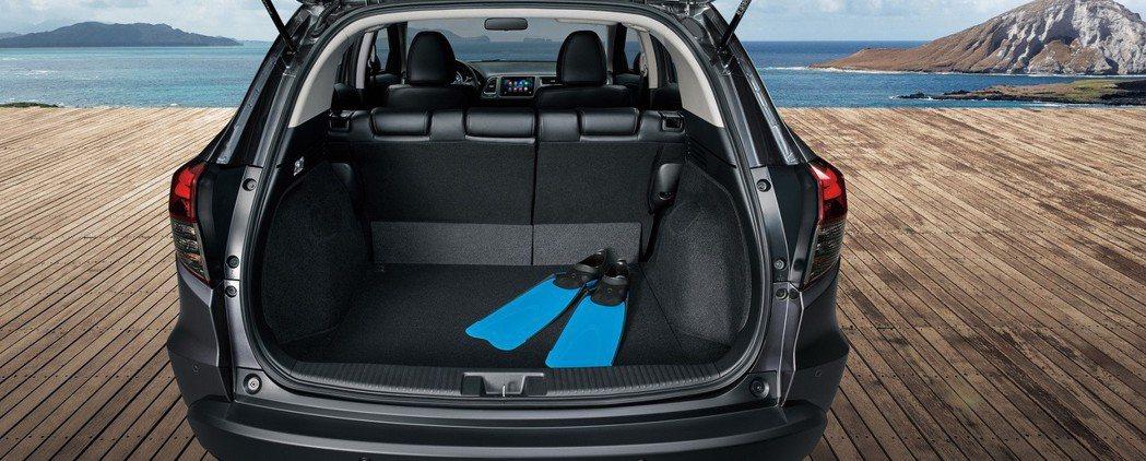 優異空間表現是HR-V的一大優勢。 圖/Honda Taiwan提供