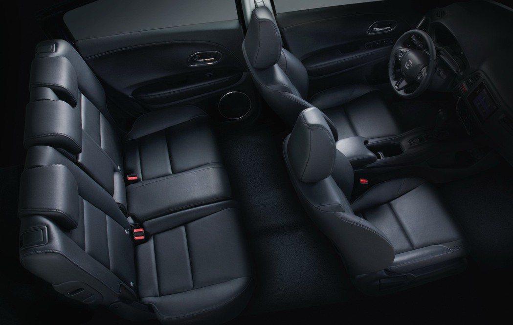 HR-V採用獨步車壇的ULTRA SEAT多變座椅。 圖/Honda Taiwa...