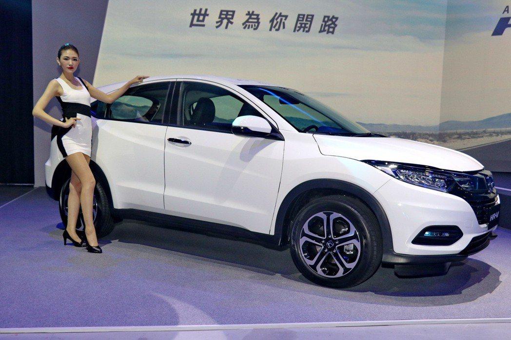 Honda HR-V巧妙融合「SUV強悍安全」、「COUPE個性」、「MPV實用...