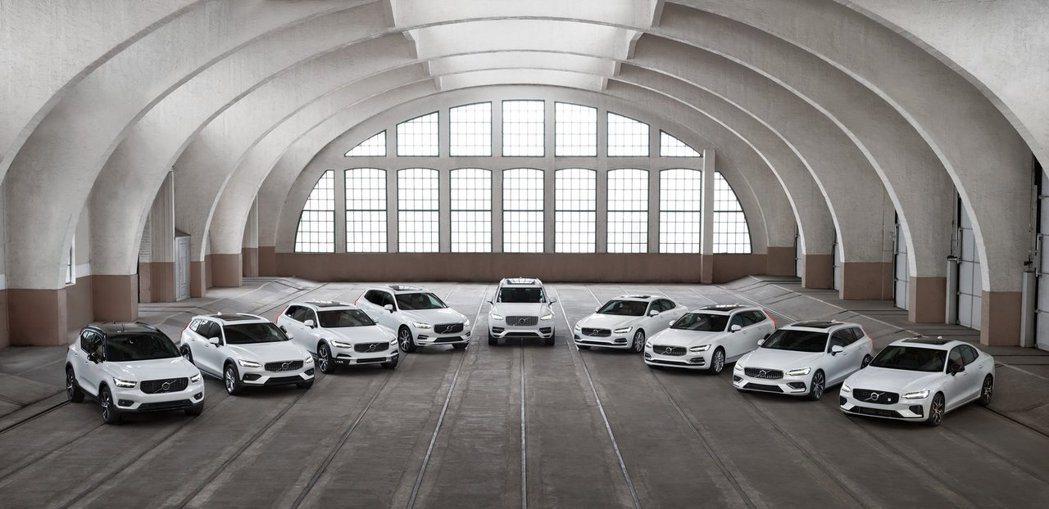 Volvo在過去10年內的員工數呈現翻倍成長。 摘自Volvo