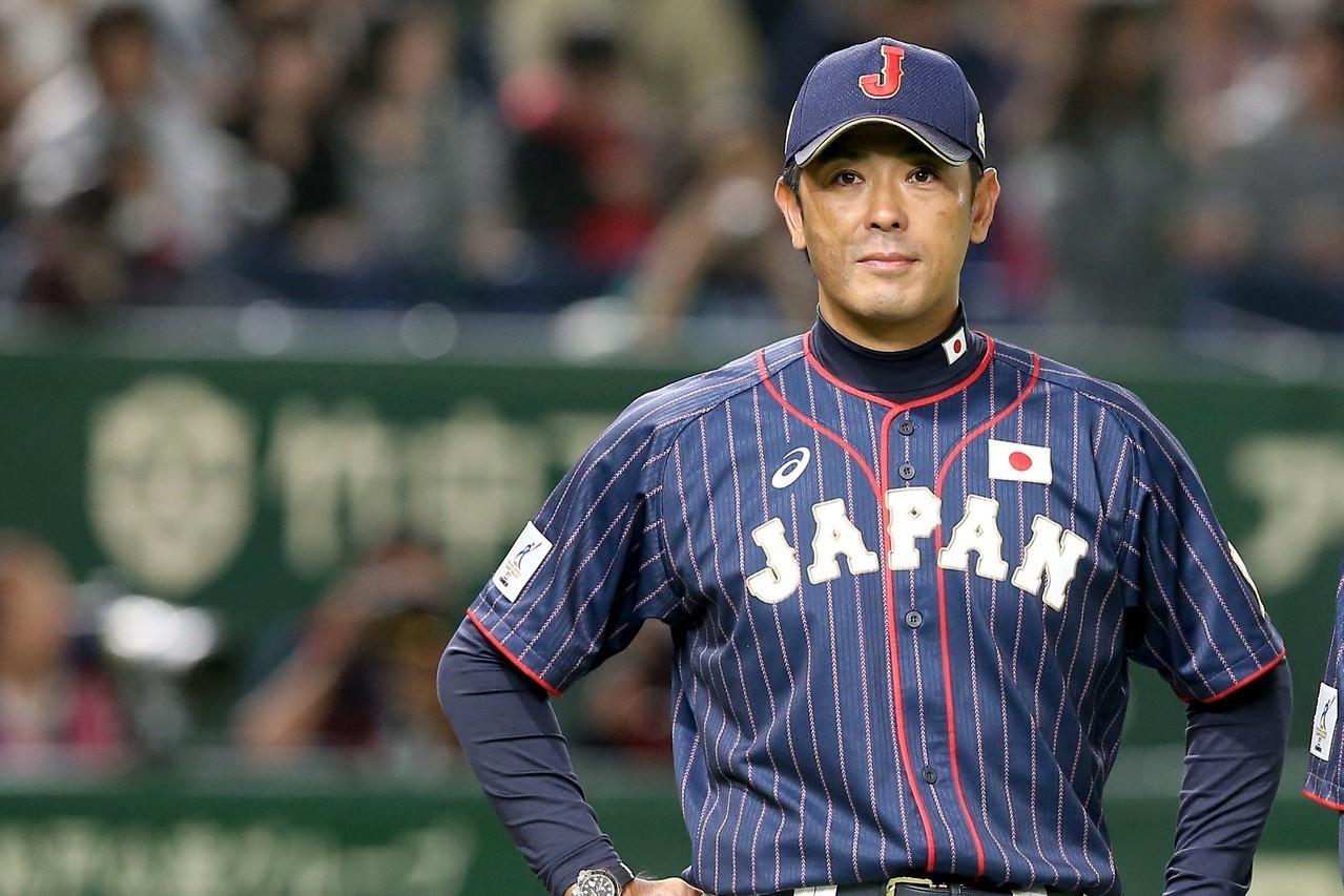 稻葉篤紀於2017年的亞職冠軍賽,正式扶正成為日本武士隊的總教練。 報系資料照