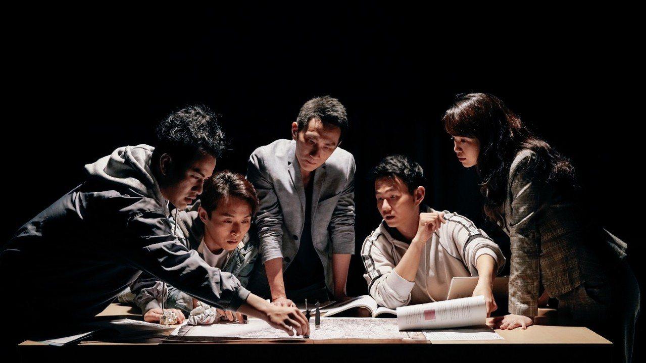 《1895火燒庄:最終抉擇》故事以五位好友共同創業的桌遊出發。 攝影/唐健哲