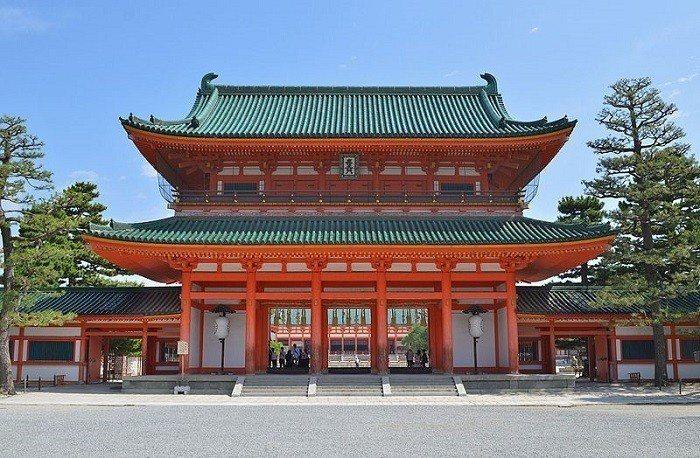 平安神宮 圖/Wikimedia