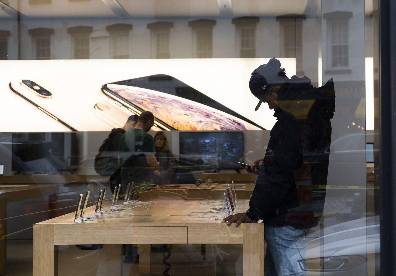 美國發布新一波擬對中國大約3,000億美元產品加徵最高達到25%的關稅清單,蘋果...