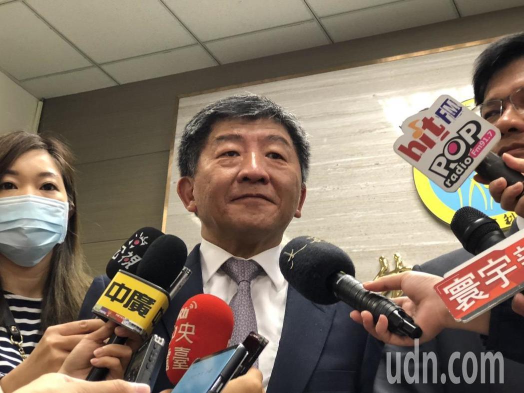 衛福部長說明台首件HPV疫苗受害救濟案衛福部決定上訴。記者曹悅華/攝影