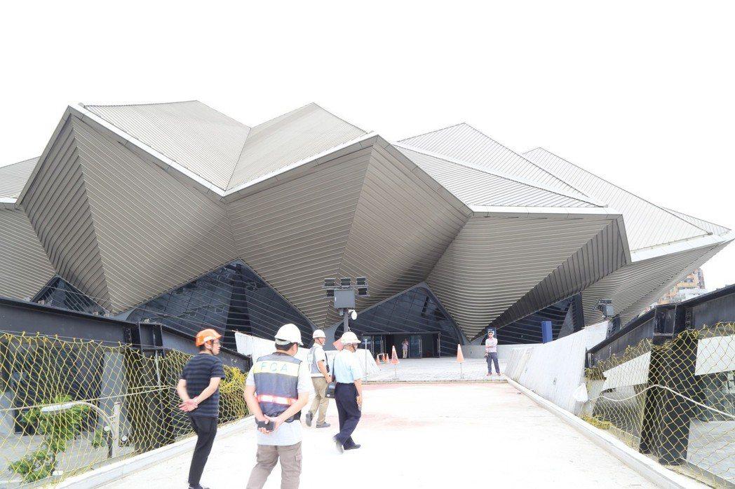 台北流行音樂中心主場館。記者魏莨伊/攝影