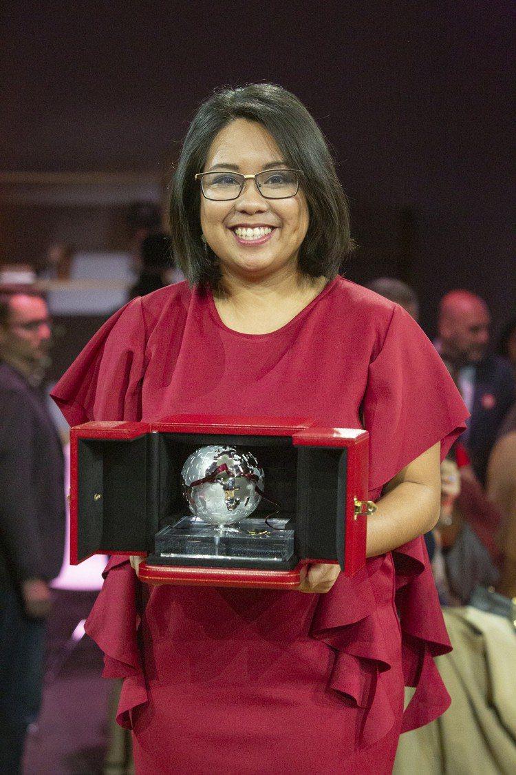 東南亞與大洋洲區得獎者Carmina Bayombong來自菲律賓,創辦的Inv...