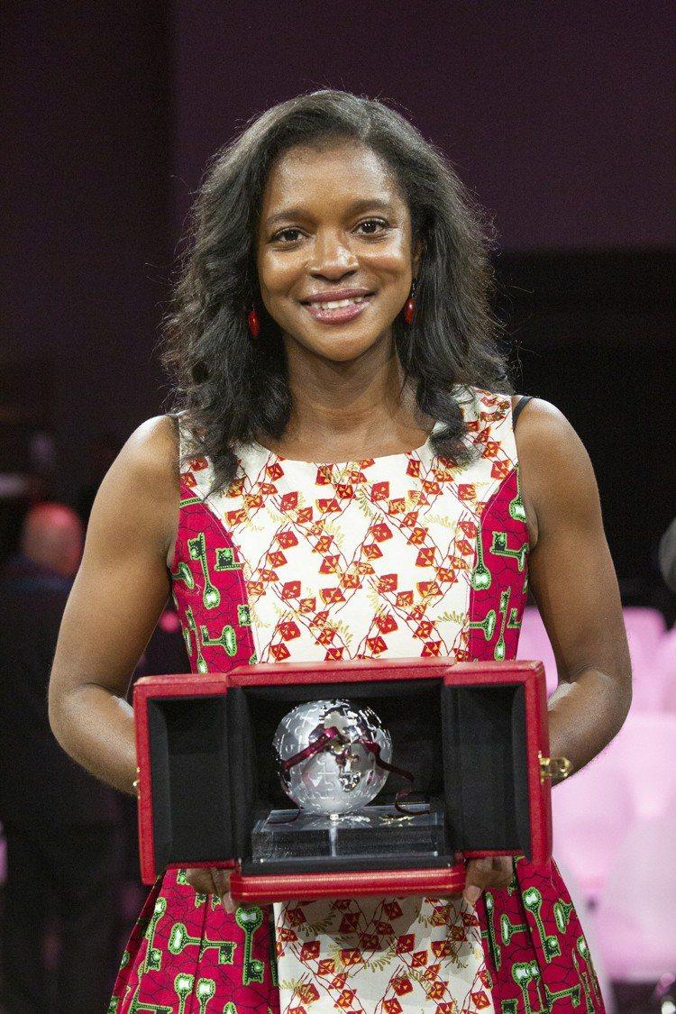 南撒哈拉非洲區得獎者Manka Angwafo來自喀麥隆,她的公司Grassla...