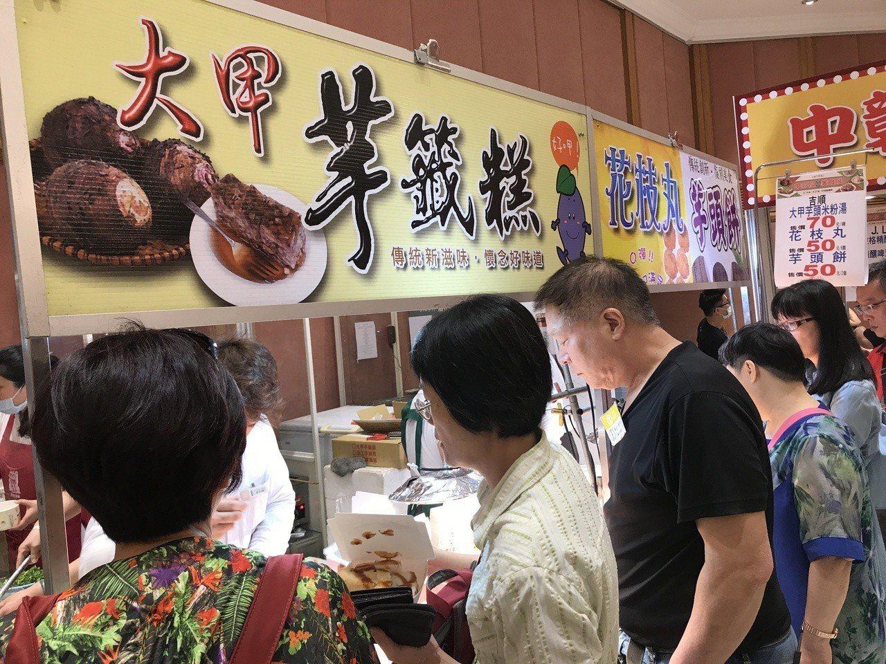 彰化美食名店「吉順」人氣相當高。記者江佩君/攝影