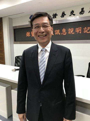 錸寶科技執行長王鼎章。 記者李珣瑛/攝影