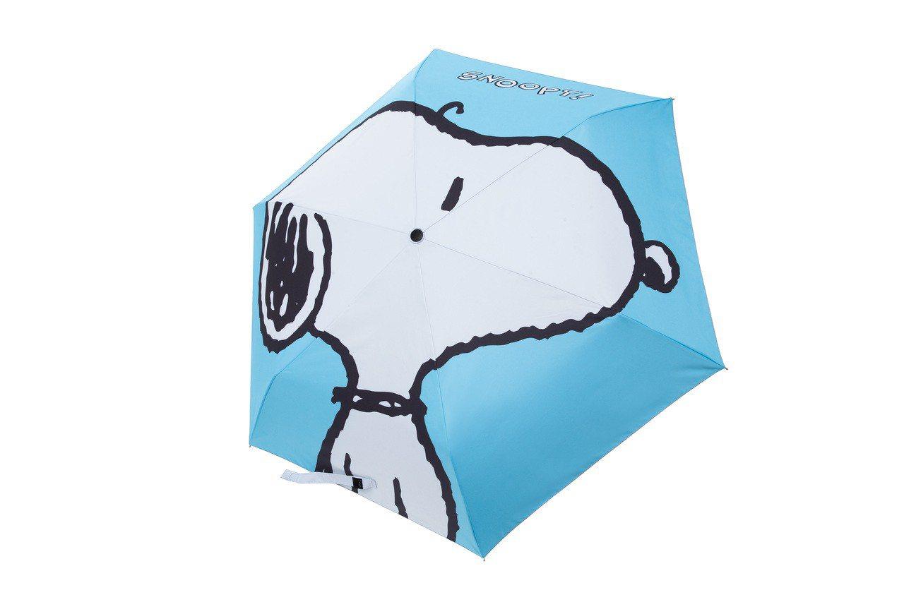 SNOOPY傘傘惹人愛,原價690元、6月12日至6月25日加購價299元,限量...