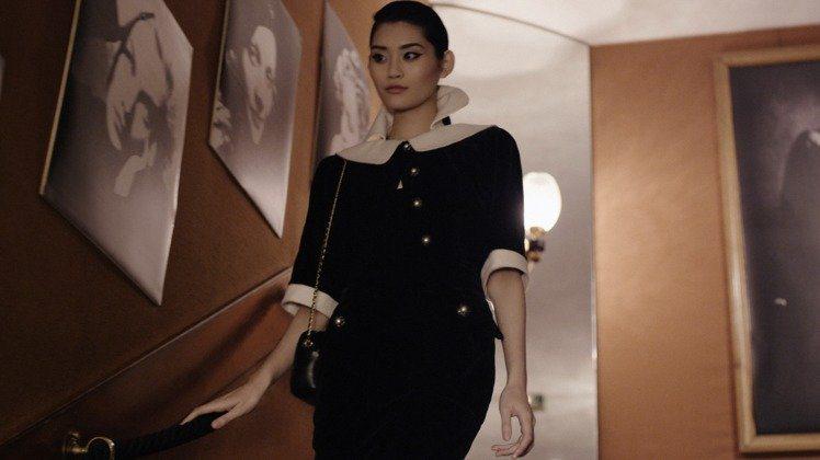 奚夢瑤在拉格斐掌鏡的《Women Only》微電影演出。圖/香奈兒提供