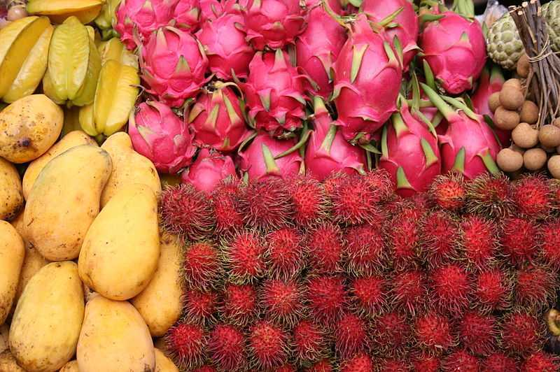 「沾他汶里府水果節」5/19登場。圖/泰國觀光局提供