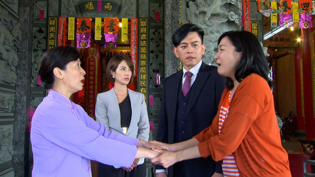 謝瓊煖客串「大時代」演出師姐。圖/民視提供