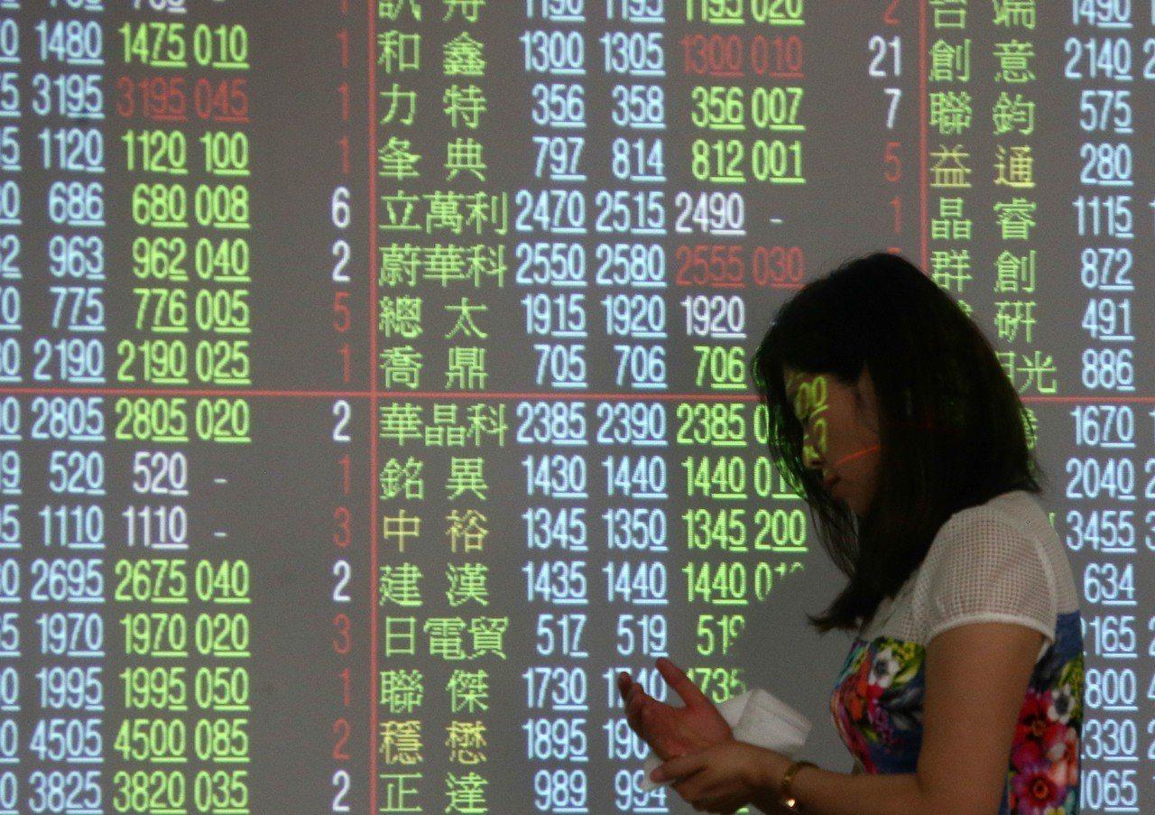 台股今日終場大盤收10,384.11點,下跌90.5點,成交量1,309.67億...