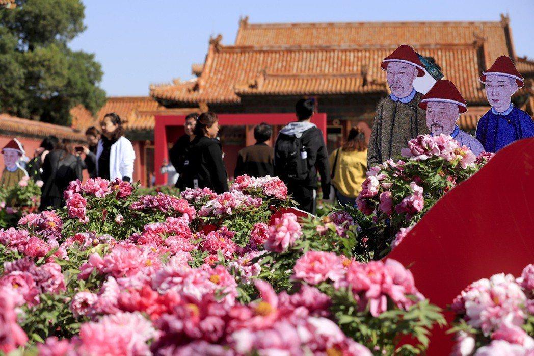 北京故宮。 (中新社)