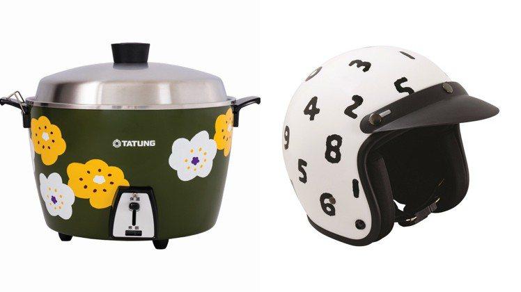「SOU‧SOU in Taiwan」展,推出機車安全帽、大同電鍋等台灣限定商品...