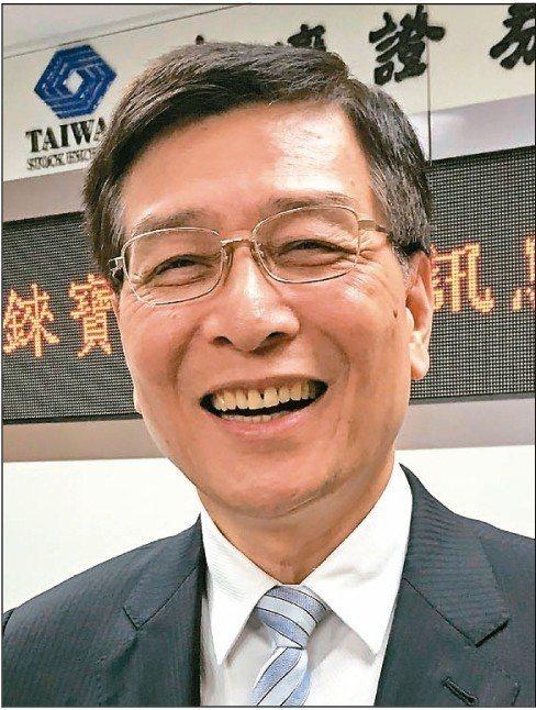 錸寶執行長王鼎章宣布,將與錼創簽署策略聯盟合作意向書,搶進MicroLED市場。 記者李珣瑛/攝影