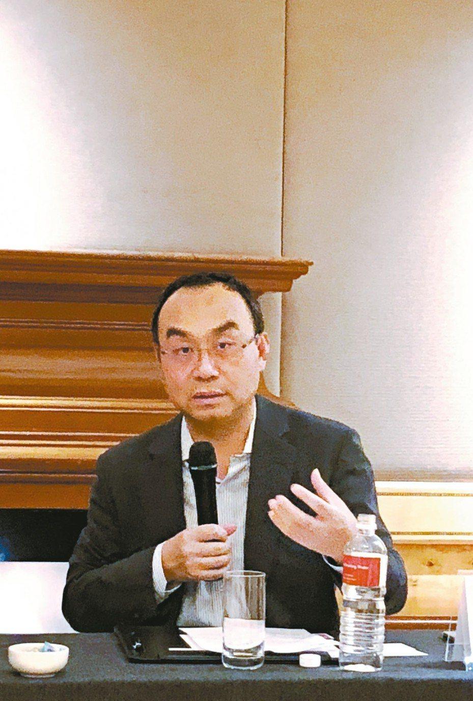愛普總座顧峻 記者簡永祥/攝影
