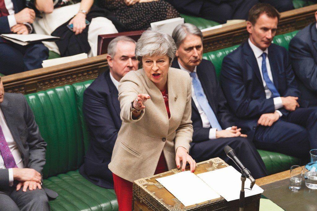 首相梅伊政府將在6月公布另一項立法草案,推動英國脫歐。 歐新社