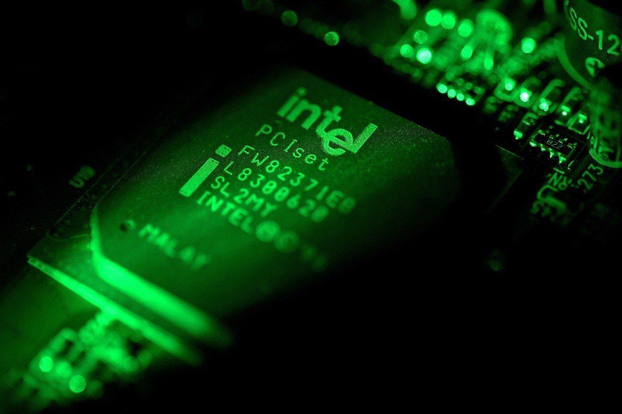 英特爾處理器被發現有新的安全漏洞。 歐新社資料照