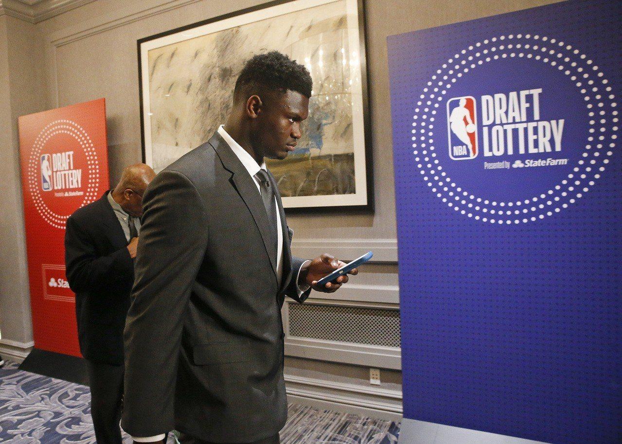 NBA/強運抽中狀元籤 鵜鶘搶先預約威廉森