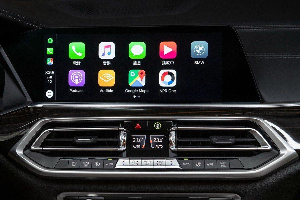 正2019年式BMW全車系配備獨家首創無線 Apple CarPlay整合系統,...