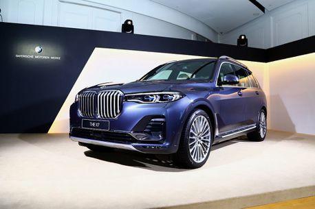 今年配額有限,接單已近百張!BMW X7旗艦休旅免500萬臺幣磅礡發表