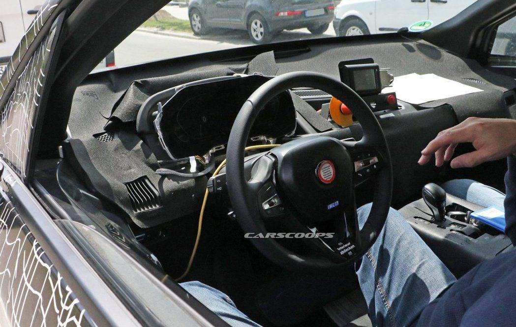 全新BMW iNEXT內裝無偽裝曝光! 摘自Carscoops