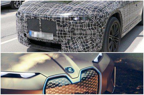 BMW旗艦純電休旅iNEXT都市現蹤 內裝不太一樣了?
