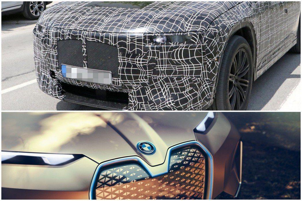 BMW iNEXT目前正如火如荼測試中。圖下為BMW Vision iNEXT概...