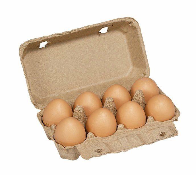 「麻吉蛋粽」禮盒可愛逼真。圖/85℃ 提供