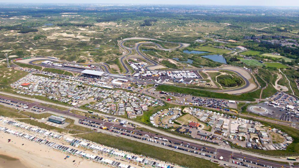 目前的Zandvoort賽道仍然需要整修才能達到舉辦F1的標準。 摘自F1