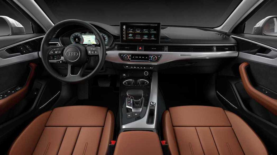小改款A4的內裝最大亮點就是10.1吋的MMI螢幕。 摘自Audi