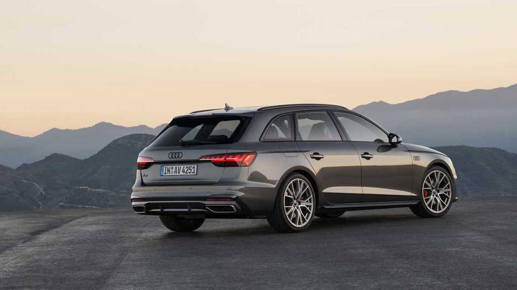 這次A4小改款也全數配備了新式的LED頭尾燈。 摘自Audi