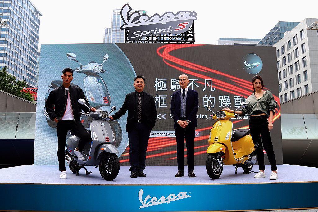 Vespa Sprint「S」系列代表Sporty涵義,展現Vespa Spri...