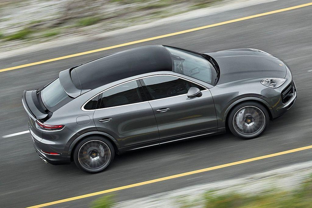 每輛Porsche Cayenne Coupe都將保時捷主動式空氣力學套件(PA...