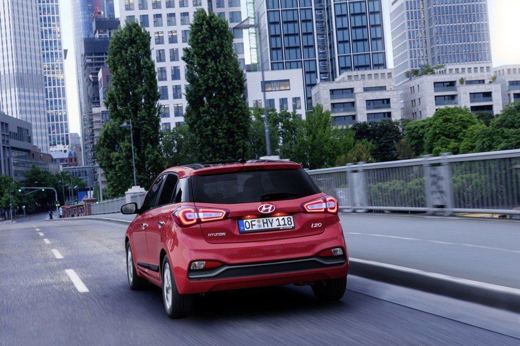 小改款Hyundai i20在去年發表小改款式樣。 摘自Hyundai