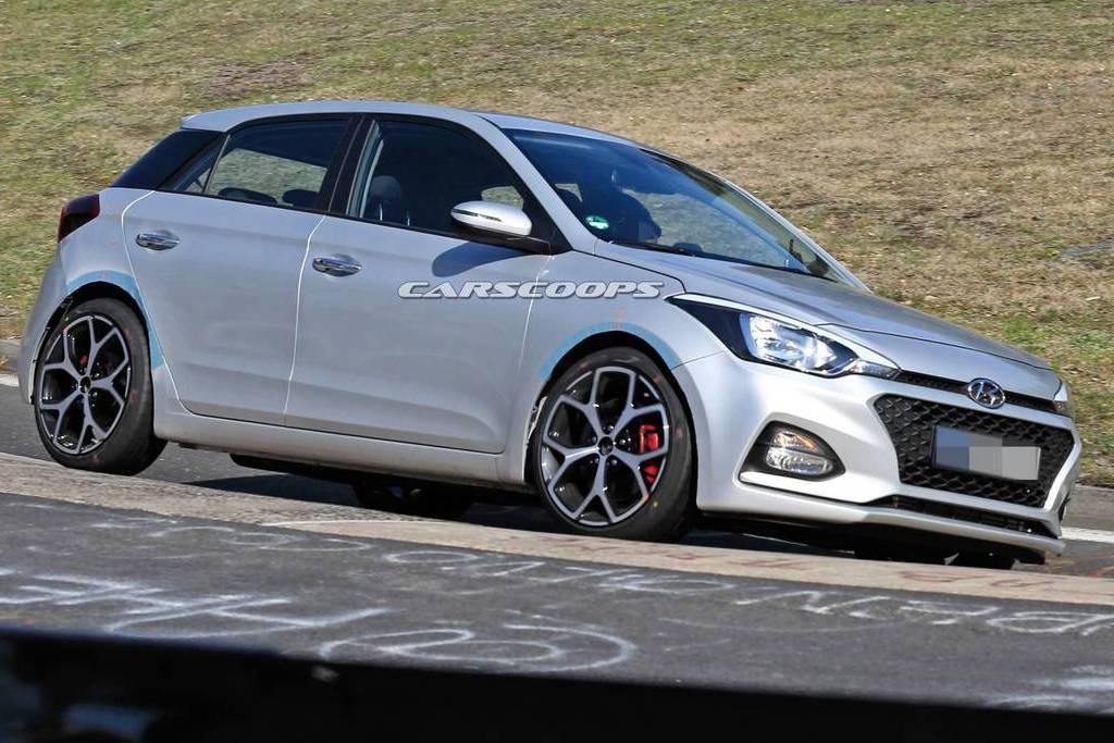 Fiesta ST小心了 全新Hyundai i20 N「假偽裝」現身預告發表!