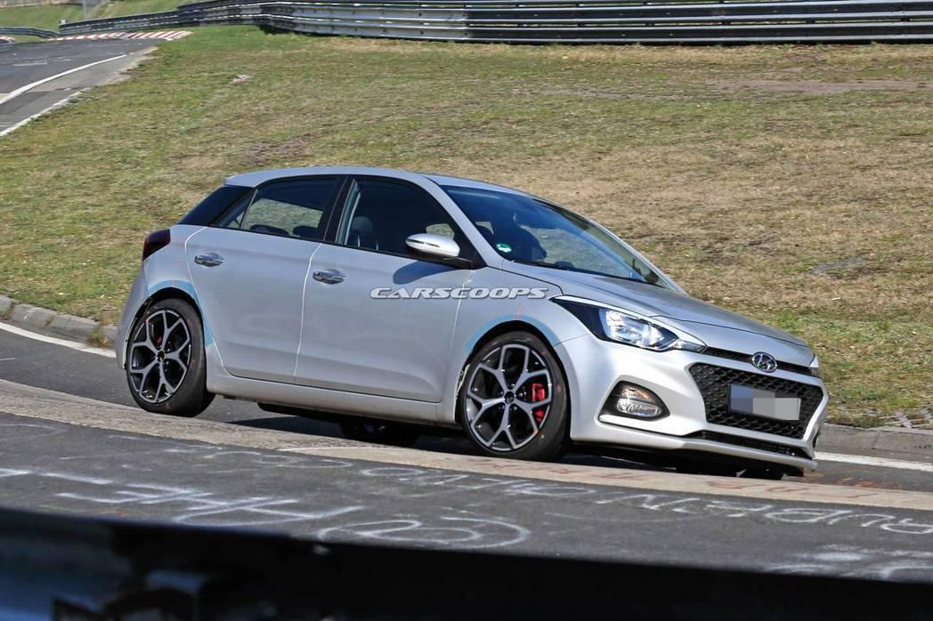 全新Hyundai i20 N應該會在新世代i20發表後才會亮相。 摘自Cars...