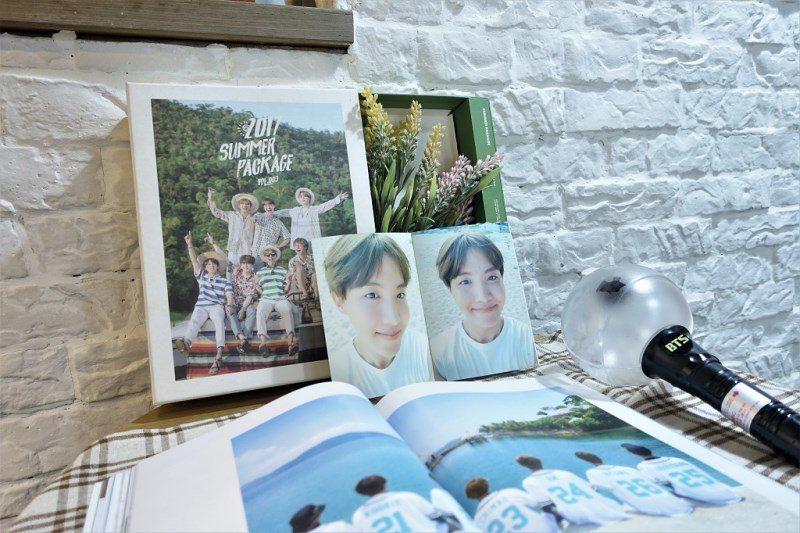 (圖/台灣旅行趣) ▲店裡當然也要有韓星的周邊啊!