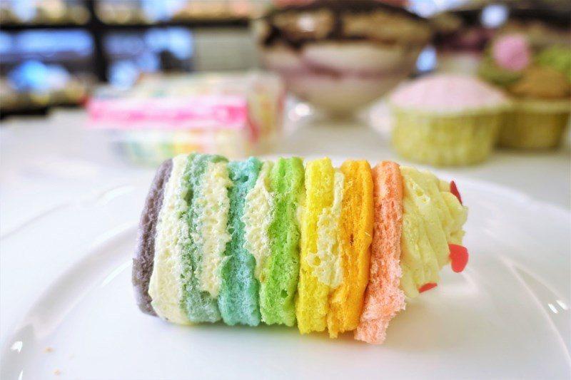 (圖/台灣旅行趣) ▲中間的蛋糕使用的是戚風蛋糕