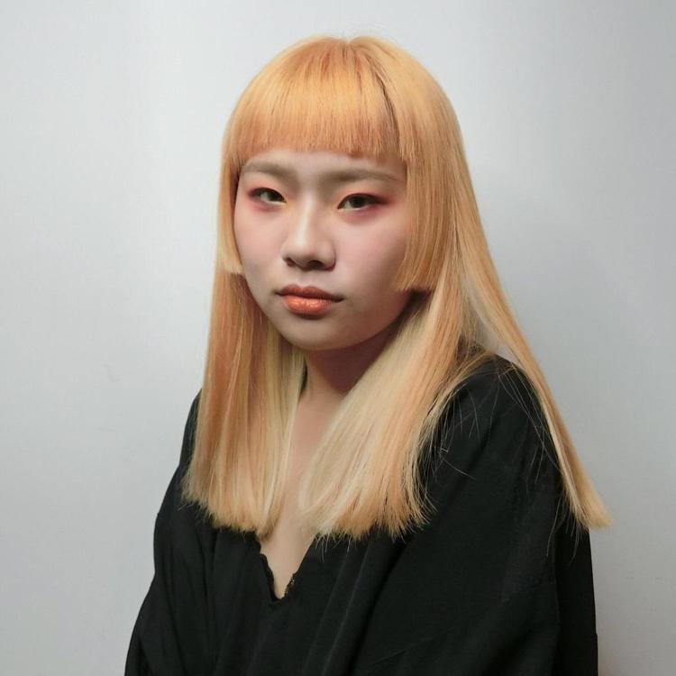 髮型創作/ EA hair salon / ASh。圖/StyleMap提供