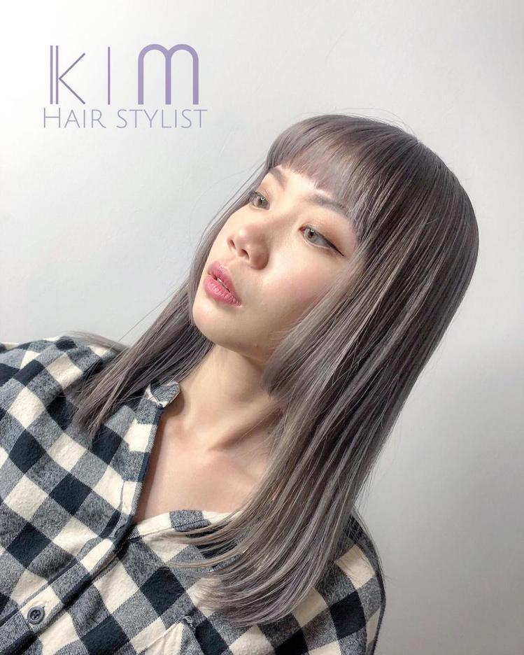 髮型創作/夏朵沙龍 一中店/Kim。圖/StyleMap提供
